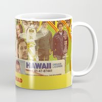 greg guillemin Mugs featuring Superbad - Greg Mottola by Smart Store