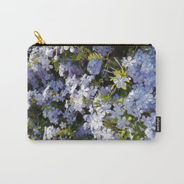 a violet flower in the heart of Athens Carry-All Pouch