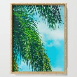 Tropical Palms Maui Hawaii Serving Tray