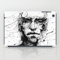 life iPad Cases featuring lines hold the memories by agnes-cecile