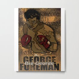 Big George Metal Print