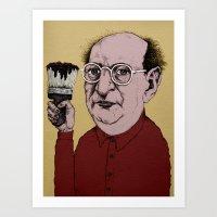 rothko Art Prints featuring Mark Rothko by baldur