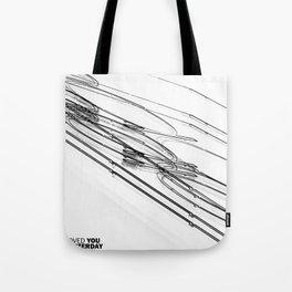 The Love Series 200 White Tote Bag