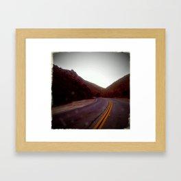 Sierra Highway Framed Art Print