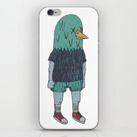 birdman iPhone & iPod Skins featuring BIRDMAN by Levi Gosteli