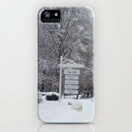 Maplewood - The Mill - Winter iPhone Case
