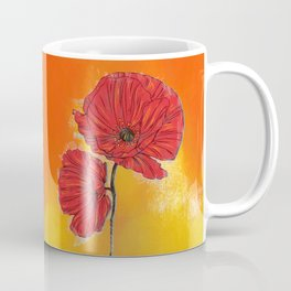 Poppy Variation 7 Coffee Mug