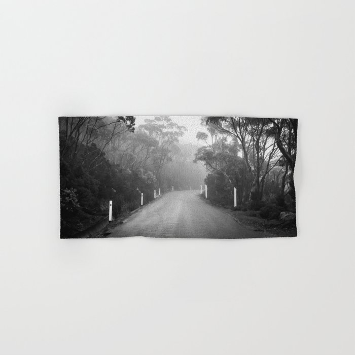 Mount Wellington Misty Road Hand & Bath Towel