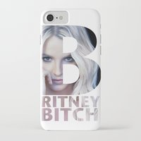 britney iPhone & iPod Cases featuring Britney Bxxch by eriicms