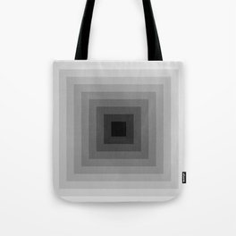 black and white tunnel Tote Bag