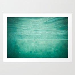 Aquatic Mosaic Art Print