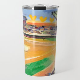 LSU Softball Travel Mug