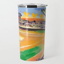 LSU Softball Travel Mug