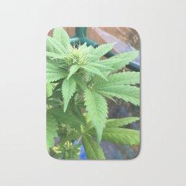 Cannabis and Mantis Bath Mat