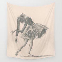 Ballerina Wall Tapestry