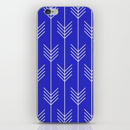 BELLE ((berry blue)) iPhone Skin