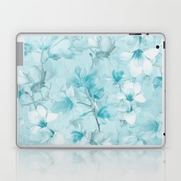 BLUE MAGNOLIAS Laptop & iPad Skin