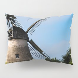 North German windmill from old time Pillow Sham