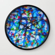 Lego: Jackson Pollock 1 Wall Clock