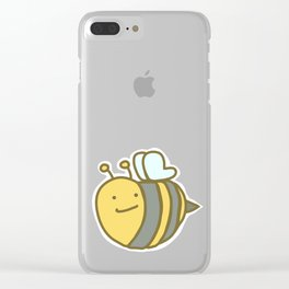 Bumble Bee Clear iPhone Case