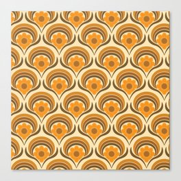 Orange  Daisy Dream Canvas Print
