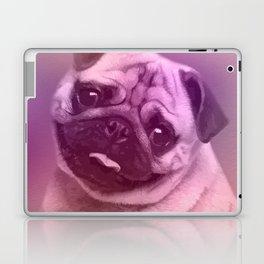 Cute Pug  Digital Art Laptop & iPad Skin