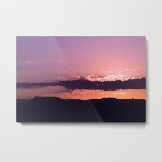 Southwest Sunrise - III Metal Print