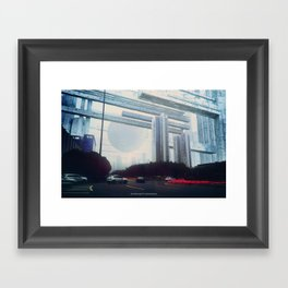 Inverted Reality (Guangzhou) Framed Art Print