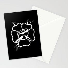 Black Rose I (black) Stationery Cards