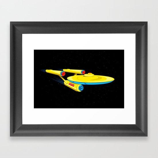 Enter-Price Framed Art Print