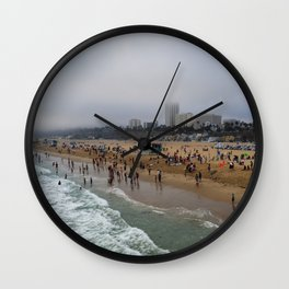Santa Monica . Wall Clock