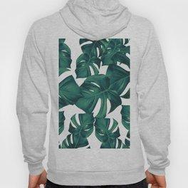 Monstera Leaves Pattern #3 #tropical #decor #art #society6 Hoody