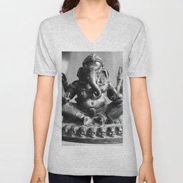 Buddhismus Unisex V-Neck