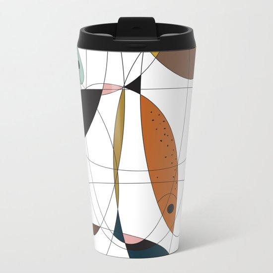 Fishing net Metal Travel Mug