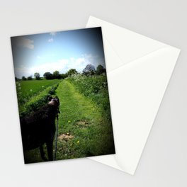 Lurching Lurcher Stationery Cards