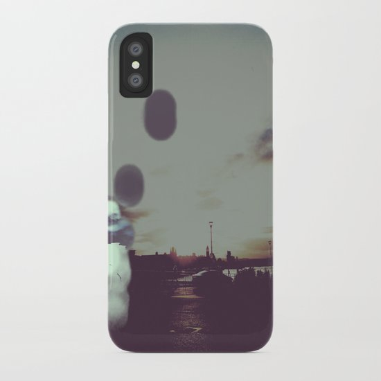 Rise and Fall iPhone Case