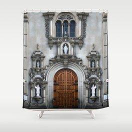 Church #eclecticart Shower Curtain
