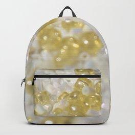 Sparkle Golden Beads Backpack