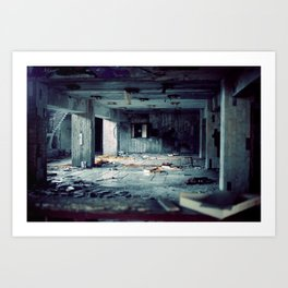 Pripyat hotel lobby Art Print