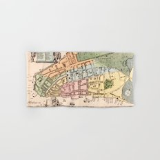 New York City 1728 Hand & Bath Towel