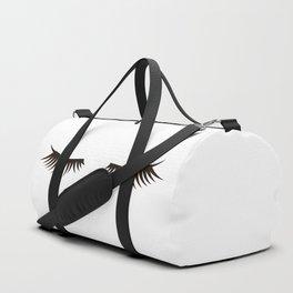 Eyelash Duffle Bag