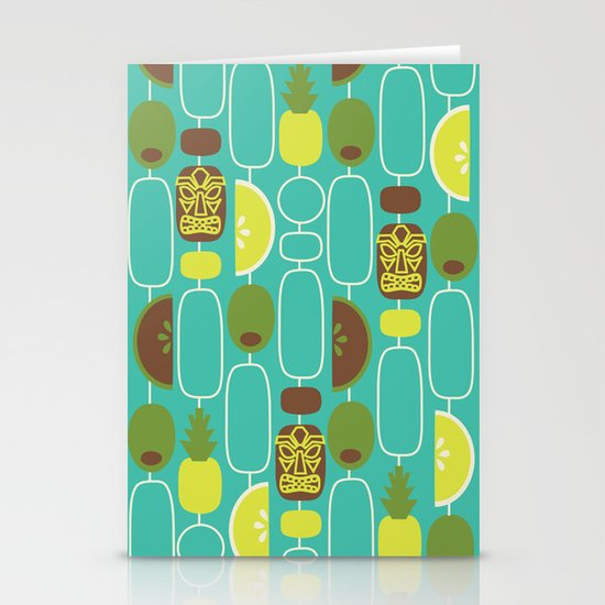 Tiki Weekend Stationery Cards
