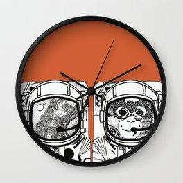 Searching for human empathy Wall Clock