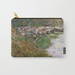 View over Vetheuil by Claude Monet Carry-All Pouch