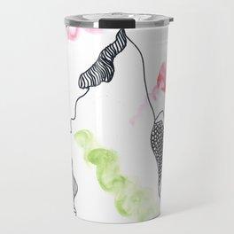 Scandi Micron Art Design | 170412 Telomere Healing 9 Travel Mug