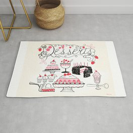 Midcentury Recipes Make Sweet And Lovely Vintage Desserts Rug
