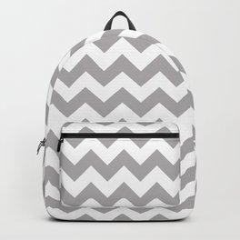Gray Zigzag, Gray Chevron, Zigzag Pattern, Chevron Backpack