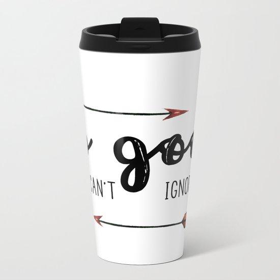 Be so good Metal Travel Mug
