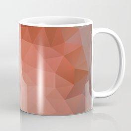 """Chocolate mousse"" geometric design Coffee Mug"