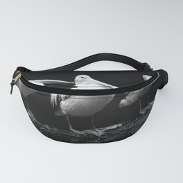 Pelican Trio black and white Fanny Pack